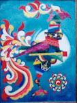 'sarimanok in cubism'