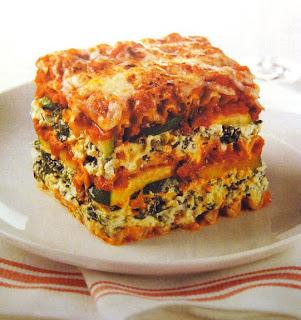 Sohl Design Zucchini Spinach Vegetarian Lasagna