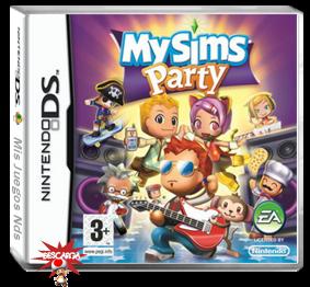 Descarga My Sims Party ds rom en español