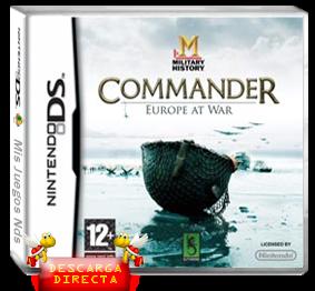 juegos nds Commander Europe at War