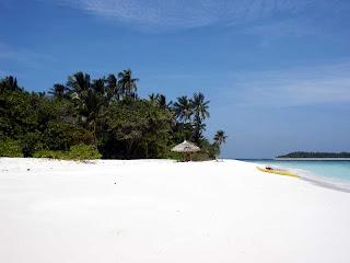 пляжи мальдивские, необитаемый остров