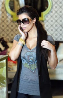 Ким Кардашьян после ботокса