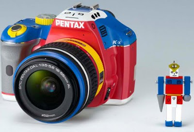 DownloadNews | Limited Edition Pentax K-x 'Robotic Colors'