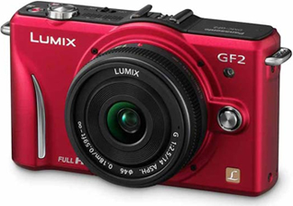 Panasonic Lumix DMC-GF2 Interchangeable Lens Camera