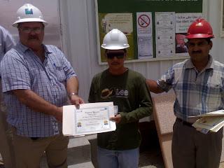 Distribution Of Safety Certificates With Saudi Aramco PMT Advisor
