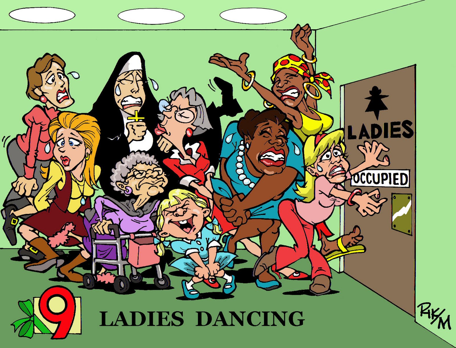 Riktoonz -- Cartoonist/Caricaturist Rick C. Moore: On the 9th ...