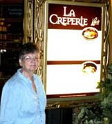 photo of Carol at LaCreperie at Paris Las Vegas