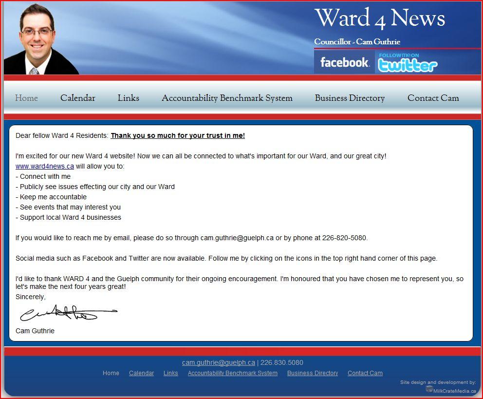 Guelph Politico: 2010