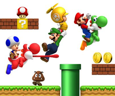 mario games pictures. much every Mario game in