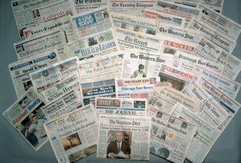 Periódicos de todo el mundo.