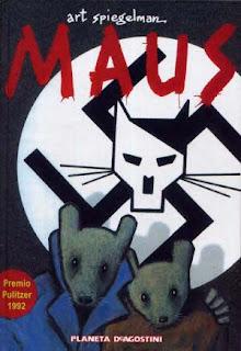 La imagen de los ratones judíos y de los gatos nazis.