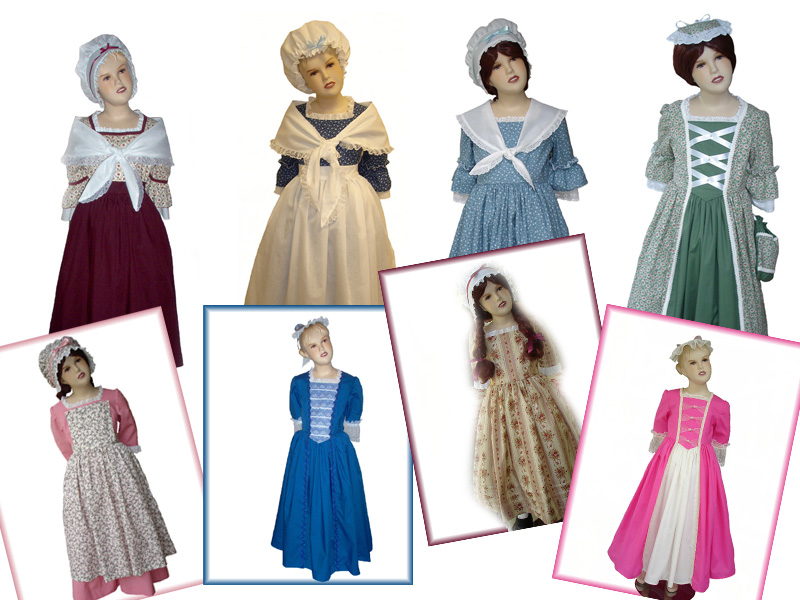 Colonial Style Gowns at Magical Attic  sc 1 st  Magical Attic & Magical Attic: Colonial Style Gowns at Magical Attic
