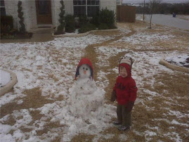 Nephew Joe and the Snowman