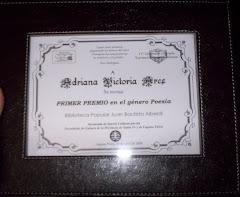 Los premios de mi oficio