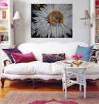 Original GIANT FLOWER PAINTINGS for sale