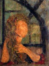 Mujer peinandose