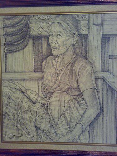 lukisan by nsputri untuk ibu pada ulang tahun yang ke 68 ibu pernahkah ...