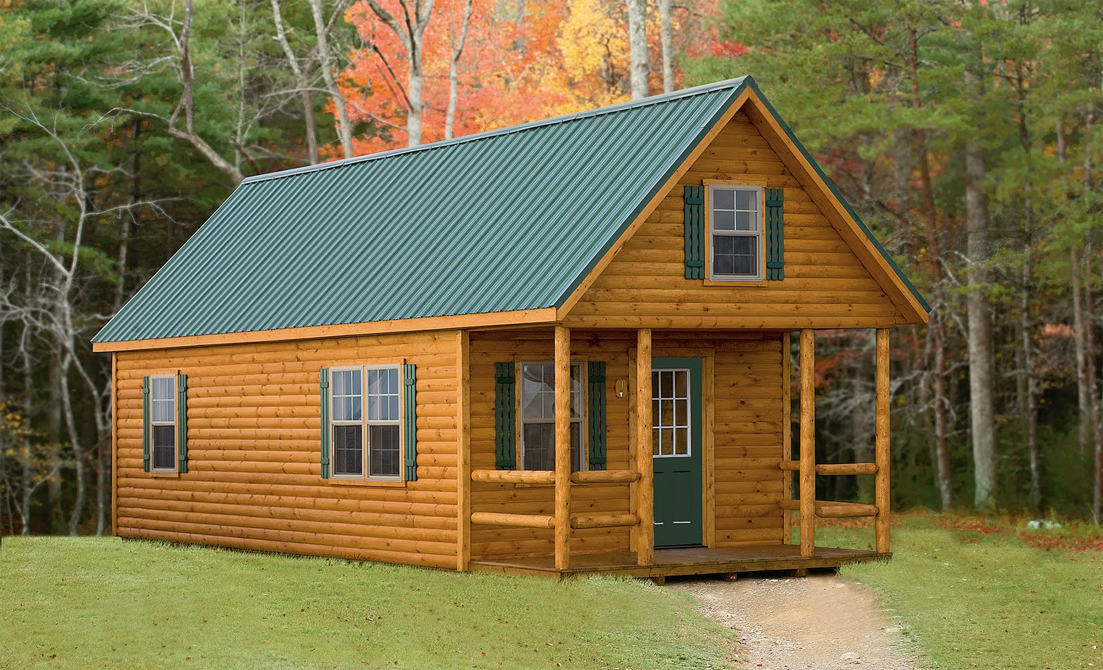 Small Log Cabin Modular Homes