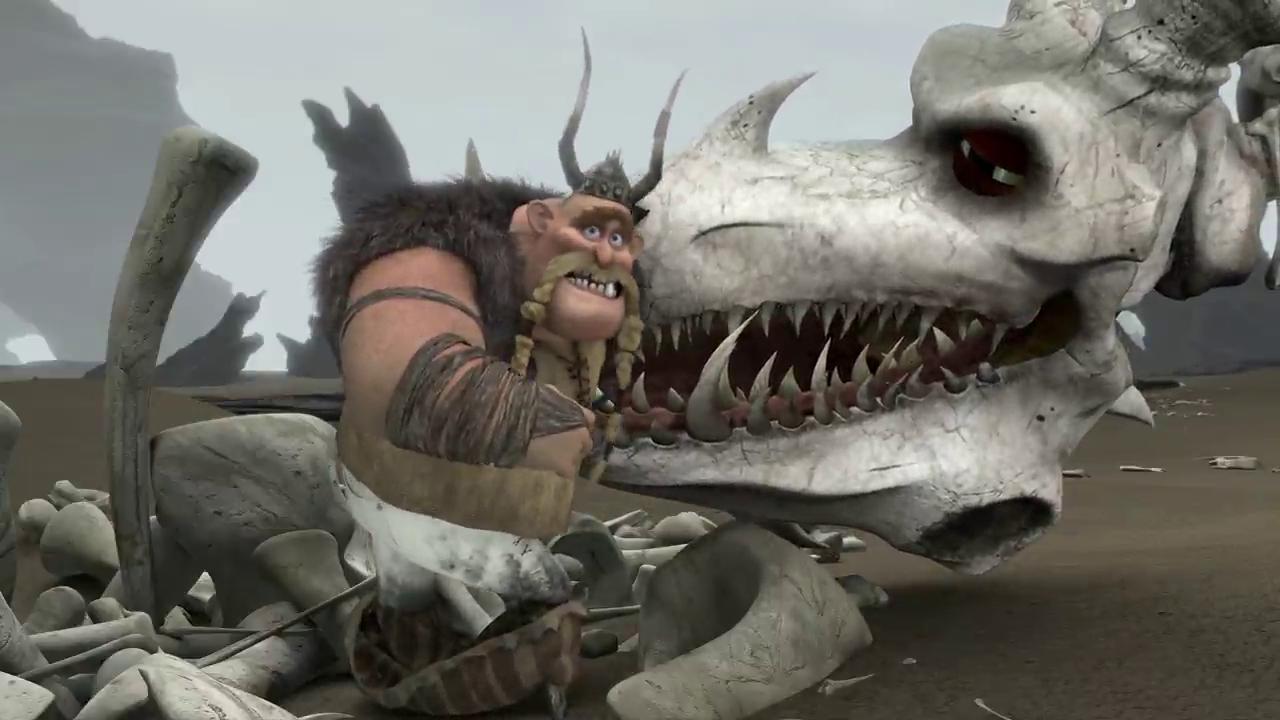 Legend of the Boneknapper Dragon Wallpapers