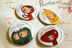 POCOTEE & FRIENDS BADGES Availeble