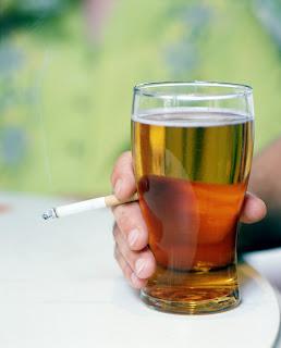 quitting smoking beer relapse