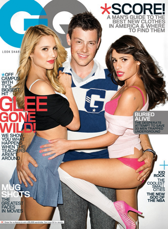 dianna agron and lea michele gq. Dianna Agron and Lea Michele