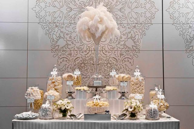 Let s start with a white christmas elegant and glamorous feathers
