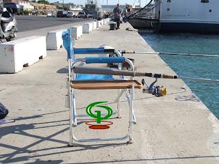 Labrolures postazione pesca con bolognese - Porta canne da pesca fai da te ...