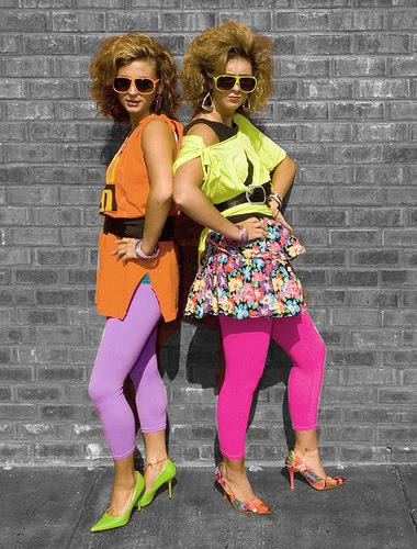 My 80s Decade An Overview Of Colorful 80s Fashion Trends