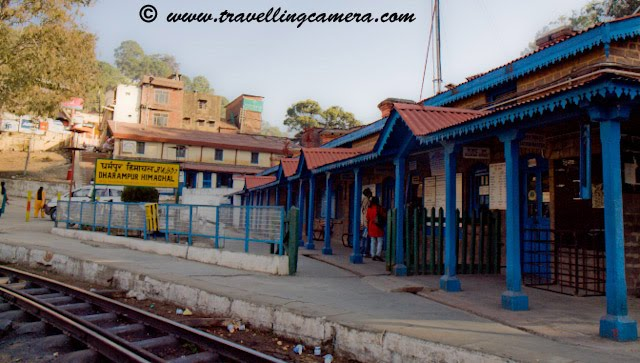 Small and Beautiful Railway Stations on Kalka-Shimla narrow track: Posted on www.travellingcamera.com by VJ: The Kalka-Shimla Railway built to connect the summer capital of India in 1903 at an altitude of 2076 meters offers a panoramic experience of the picturesque Himalayas from the shivalik foot hills at Kalka to several important points such as Dharampur, Solan, Kandaghat, Taradevi, Barog, Salogra, Summerhill, Shimla and beyond up to the silvery snow line near the towering peaks.Sonwara Railway Station on the way to Shimla from Kalka...Himalyan Queen waits for 30 minutes at this station to let Shivalik Express pass through....  KOTI Railway Station on the way to Shimla from Kalka...I have clicked these photographs during recent visit to Shimla.... We reach KOTI Railway Station after crossing longest Barog tunnel....Jabali Railway Station on the way to Shimla from Kalka...Kandaghat Railway Station on the way to Shimla from Kalka...Located at an altitude of 4680 ft above sea level Kandaghat is the nice place in Himachal Pradesh for you if are looking for a quiet and peaceful vacation. Maharaja Bhupinder Singh built his palace in Kandaghat after which this place received the attention. Raja Bhupinder Singh was the ruler of Patiala and when he was expelled from Shimla, he set up base in Kandaghat. Today, this is one of the most popular destinations to travel in India.  A reflection of Kandaghat Railway Station on train window...Dharmpur Railway Station on the way to Shimla from Kalka..Just 15 km from Kasauli on the National highway No.22 Dharampur has one of the best hospitals in India for the cure of tuberculosis. It is also connected by Kalka Shimla railway line.... Shoghi Railway Station on the way to Shimla from Kalka...SHoghi is a small town near Shimla and now its being developed as new tourist destination in Himachal. There are many resorts with good facilities in Shoghi and have reasonable arrangements for tourist groups..Kandaghat Railway Station on the way 