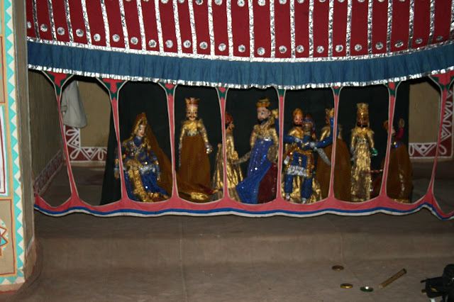 Photograph of Puppet Show at Chokhi Dhani