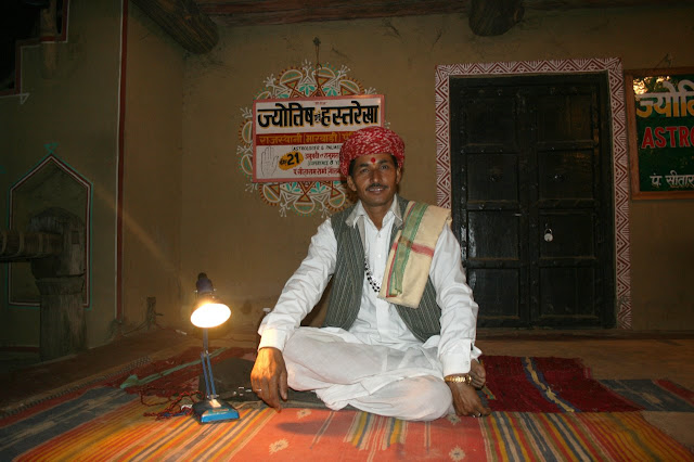 Photograph of Pandit ji @ Chokhi Dhani (Astrologer)