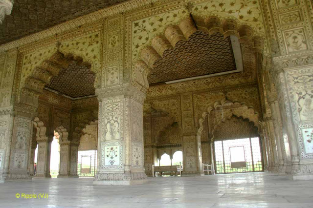 Diwan I Khas The Most Richly Decorated Of All The Red Fort Buildings