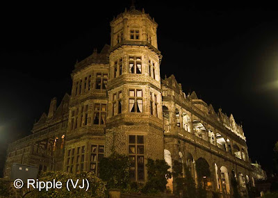 Posted by Ripple (VJ) : SHIMLA: Side view of Indian Institiue of Advanced Studies Shimla (Night View)  The building that houses the Institute was originally built as a home for Lord Dufferin, Viceroy of India from 1884 - 1888 and was called the Viceregal Lodge.[2] It housed all the subsequent viceroys and governor generals of India. It occupied the Observatory Hill, one of the seven hills that Shimla is built upon.  Many historic decisions have been taken in the building during the Indian independence movement. The Simla Conference was held here in 1945. The decision to carve out Pakistan and East Pakistan from India was also taken here in 1947.[2]  After India gained independence, the building was renamed Rashtrapati Niwas and was used as a summer retreat for the President of India. However, due to its neglect, Dr. S Radhakrishnan decided to turn it into a centre of higher learning. Side view of Viceregal Lodge Shimla