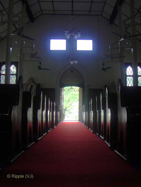 Posted by Ripple (VJ) : Palampur, Himachal Pradesh: Main Entry for entering into the church @ Palampur, Himachal Pradesh