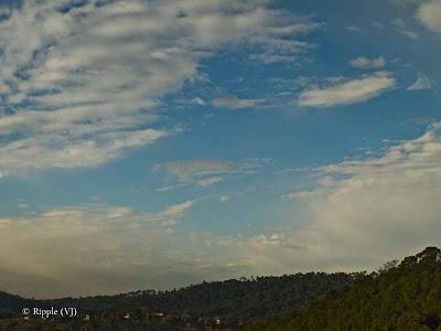 Posted by Ripple (VJ) : My Homoetown : Hamirpur, Himachal Pradesh : Blue Sky :) @ Hamirpur