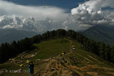 Posted by Ripple (VJ) : Recently I visited Bijli Mahadev, which is a small trek from Kullu. Since there is a road now, so we had to trek 3 km only. Its really an amazing place to visit and this was the best place I visited during my recent Kullu-Manali trip of four days. I visited many places like Rohtang, Solang, Vishishth, Naggar, Kullu, Manali, Manimahesh etc, but the best part was trekking experience to Bijli Mahadev...  Bijli Mahadev is one of the sacred temples of the Indian state of Himachal Pradesh. It is located at an altitude of about 2,438 m in the Kullu Valley. Bijli Mahadev is one of the excellent temples in India. Located 10 km from Kullu across the Beas river, it can be approached by a difficult but rewarding trek of 3 km.: Posted by Ripple (VJ) : ripple, Vijay Kumar Sharma, ripple4photography, Frozen Moments, photographs, Photography, ripple (VJ), VJ, Ripple (VJ) Photography, Capture Present for Future, Freeze Present for Future, ripple (VJ) Photographs , VJ Photographs, Ripple (VJ) Photography :