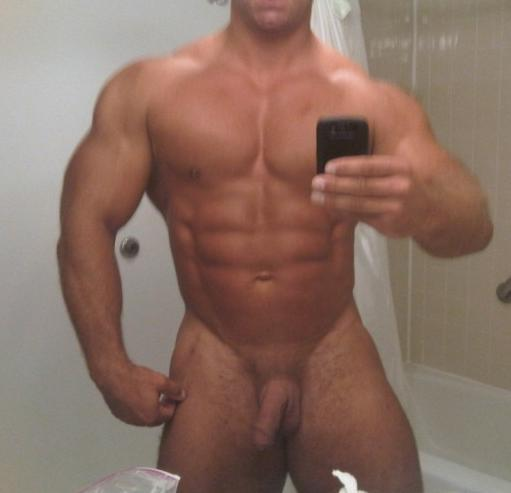 nude bodybuilder cock muscle worship