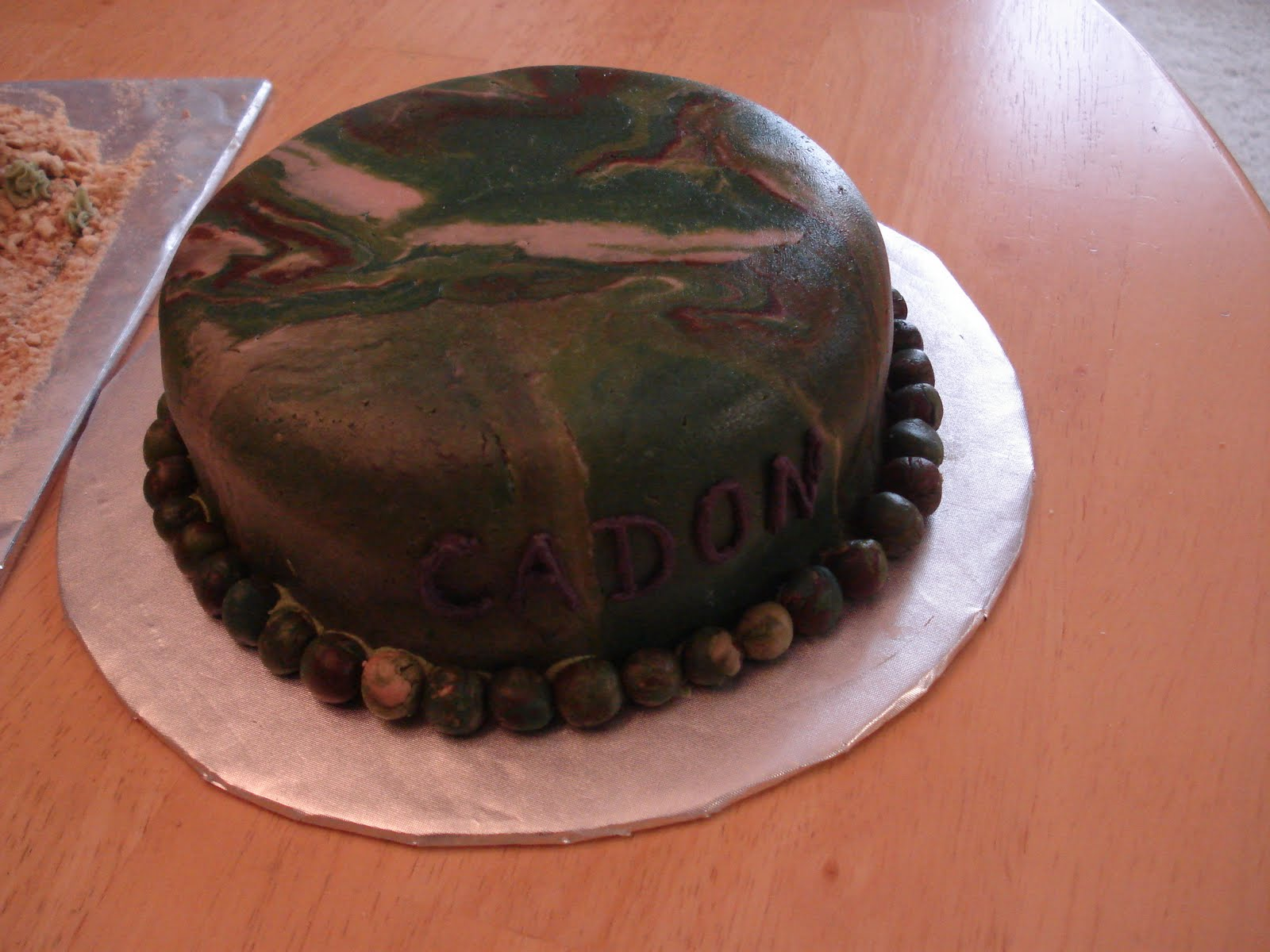 Kims Cakes and Crumbs Army Tank Cake