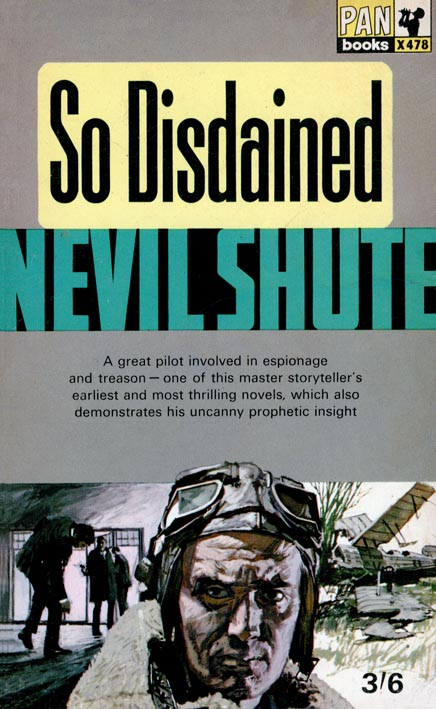 Nevil Shute - So Disdained Audiobook (1 cd)
