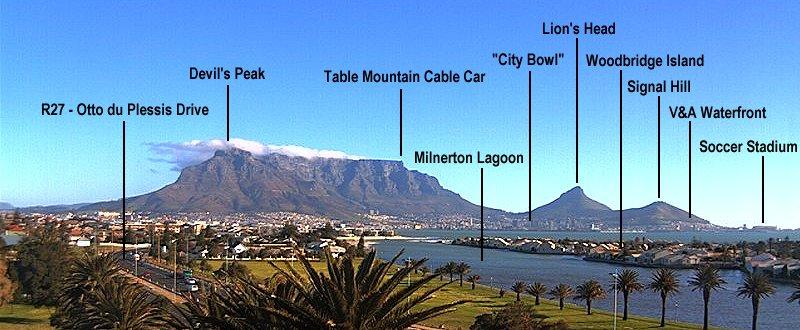 Webcam Traveler Table Mountain Cape Town South Africa
