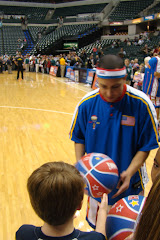 Trayjan at the Globetrotters Game 2010