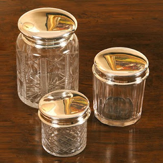 Layla Grace Etched Glass Canisters