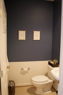 Christina's Painted Powder Room