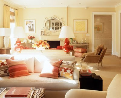 Amanda Nisbet Coral Living Room