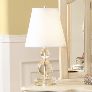 Windham Crystal Accent Lamp