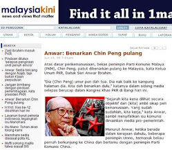 Anwar Iktiraf Chin Peng?