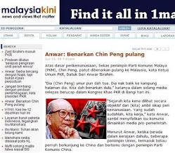 Anwar Iktiraf Chin Peng?