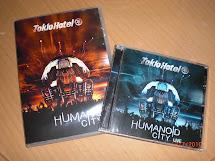 Tokio Hotel Br Encarte Dvd Cd Humanoid City Live