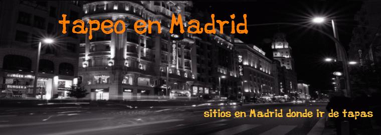 Tapeo en Madrid
